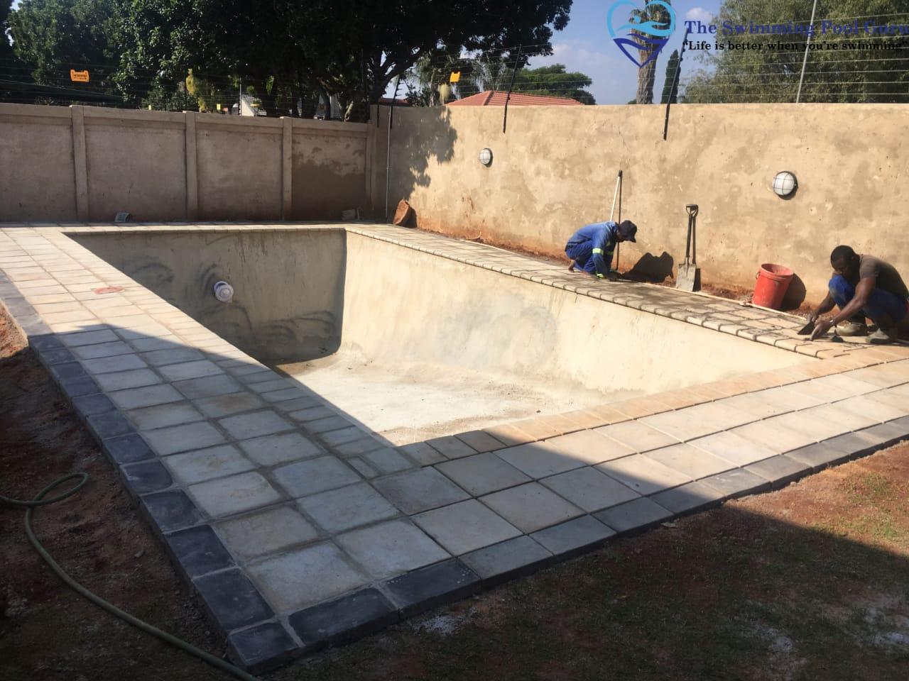 Pool finishing